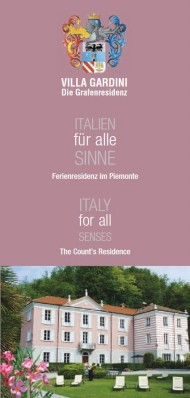 Prospekt Italien  